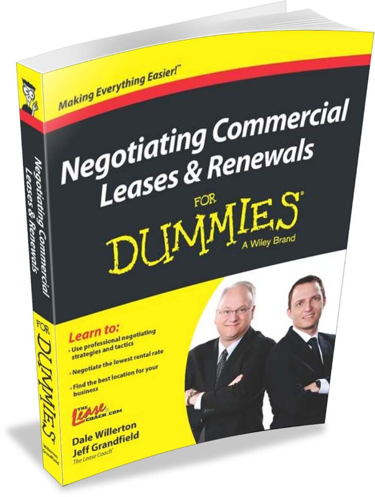 Dale Willerton is co-author of Negotiating Commercial Leases & Renewals for Dummies.