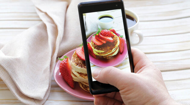 Since food photographs well, Instagram is a great platform for a catering business.
