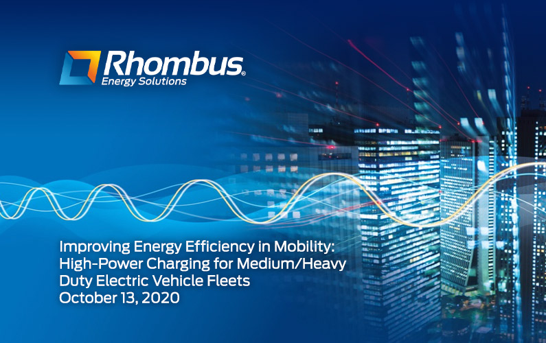 Improving Energy Efficiency in Mobility