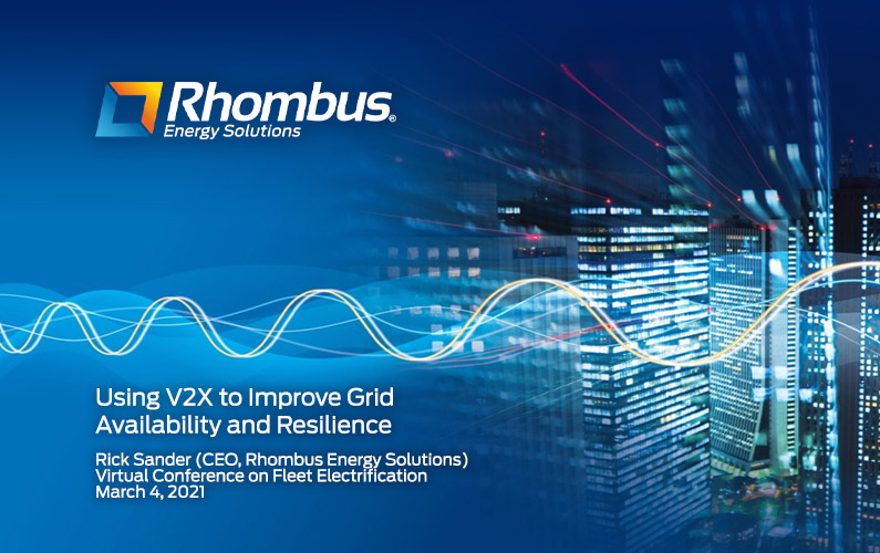 Using V2X to Improve Grid Availability and Resilience