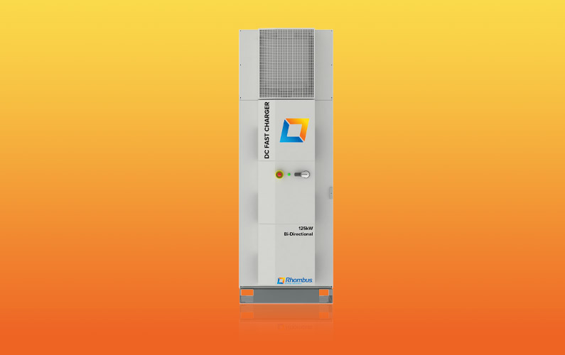 125kW Bi-Directional DC Fast Charger PCS
