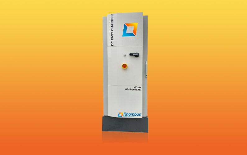 60kW Bi-Directional DC Fast Charger PCS