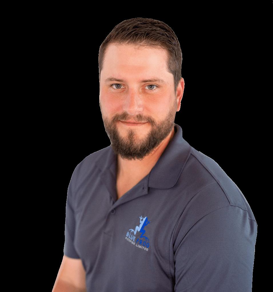 John Sokoll, Owner of Blue Frog Roofing in Berthoud, Colorado