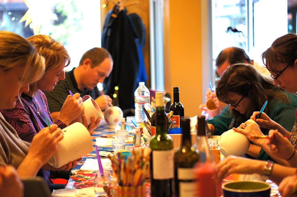 Mimosa Studios - Paint Your Own Pottery Studio