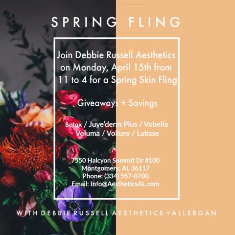 Spring Skin Fling with Debbie Russell Aesthetics + Allergan
