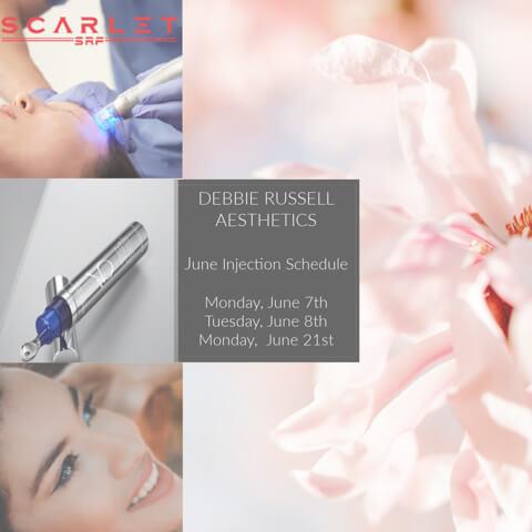 June Injection Date: Montgomery Aesthetics