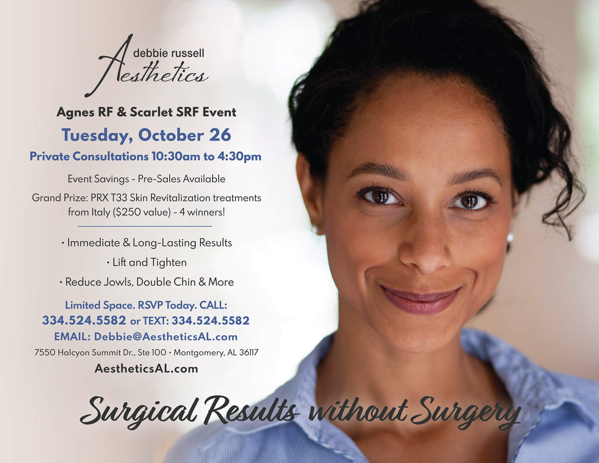 Agnes RF & Scarlet SRF Event