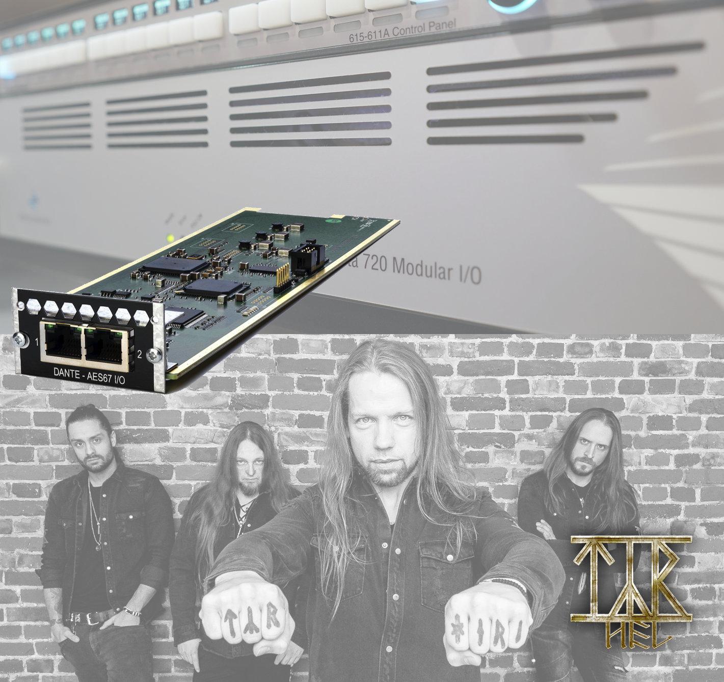 Penta 720 with Dante Card Expansion Meets Faroese Folk Metal