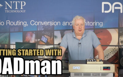 Getting Started with DADman Control Software