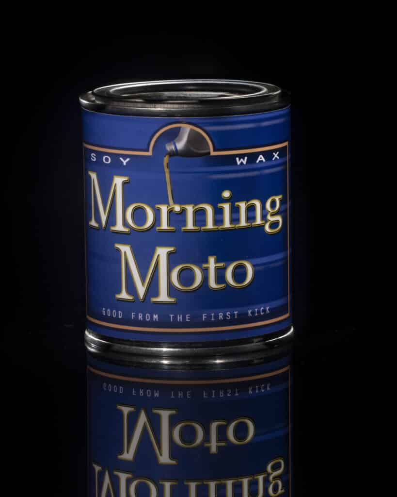 Morning moto can-Hole thing