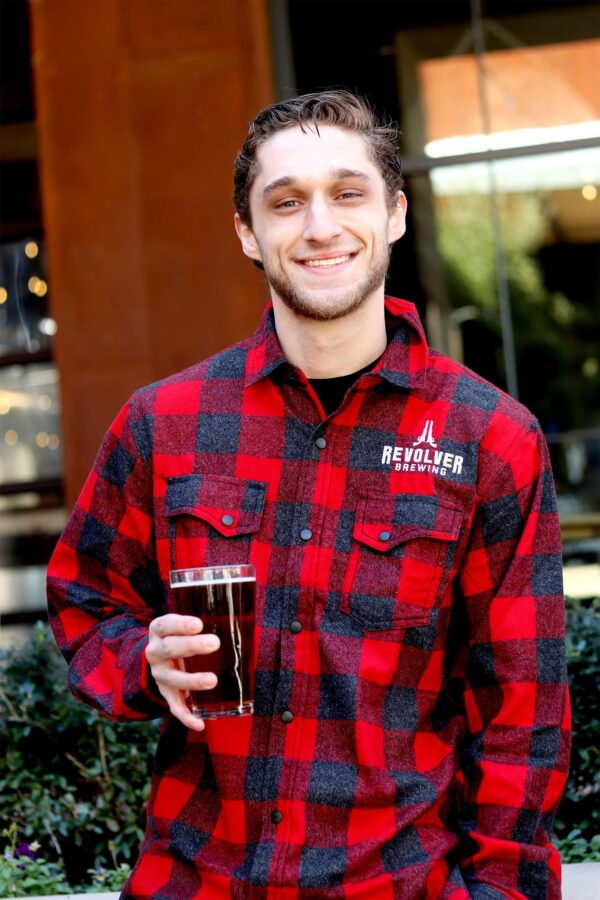 Flannel red mens