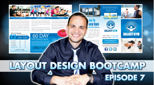 Layout Design Bootcamp – Episode 7 – Trifold Brochure