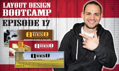 Layout Design Bootcamp – Episode 17 – Billboard Design