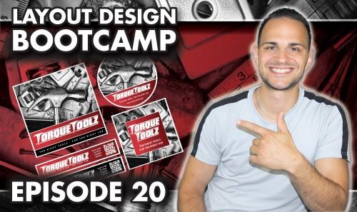 Layout Design Bootcamp – Episode 20 – Creative Label Design