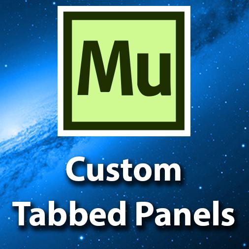 Adobe Muse CC Tutorial – Creating Tabbed Panels