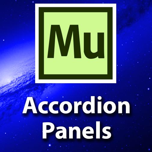 Adobe Muse CC Tutorial – Adding Accordion Panels