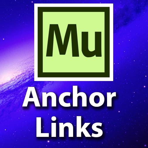 Adobe Muse CC Tutorial – Building Anchor Links