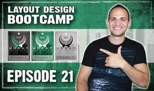 Layout Design Bootcamp – Episode 21 – Event Tag Design