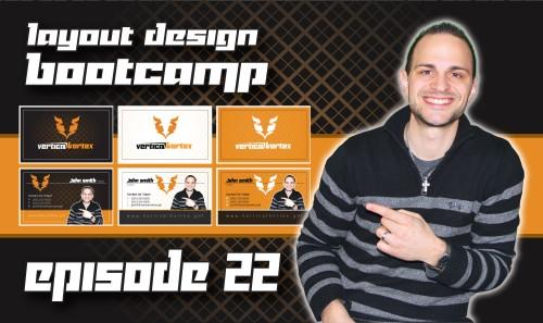 Layout Design Bootcamp – Episode 22 – Business Card Design