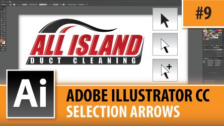 Adobe Illustrator Creative Cloud – The Selection Arrows – Episode #9