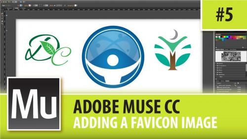 Adobe Muse CC – Adding A Favicon Image – Episode #5