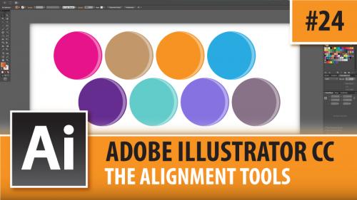 Adobe Illustrator Creative Cloud – The Alignment Tools – Episode #24