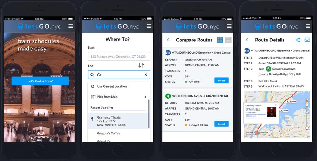 portfolio-prototype-letsgonyc-app