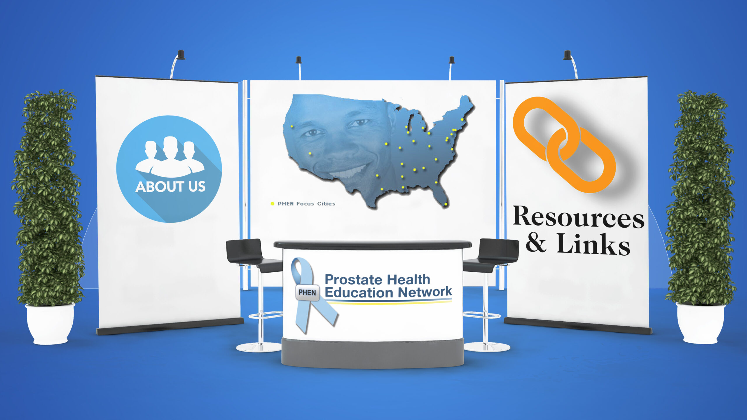 Prostate Health Education Network Booth