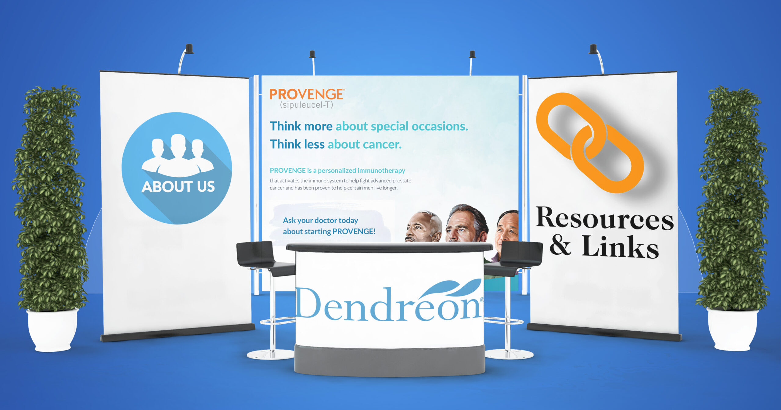 Dendreon Booth