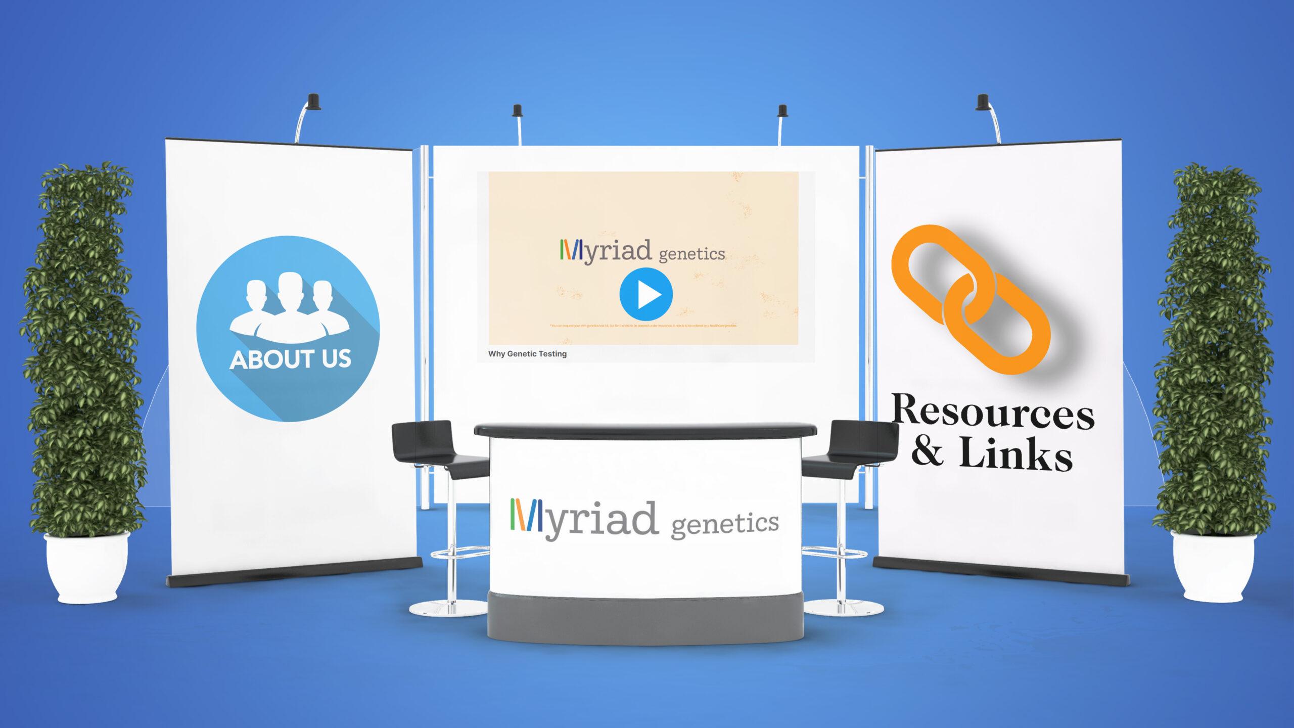 Myriad Genetics Booth