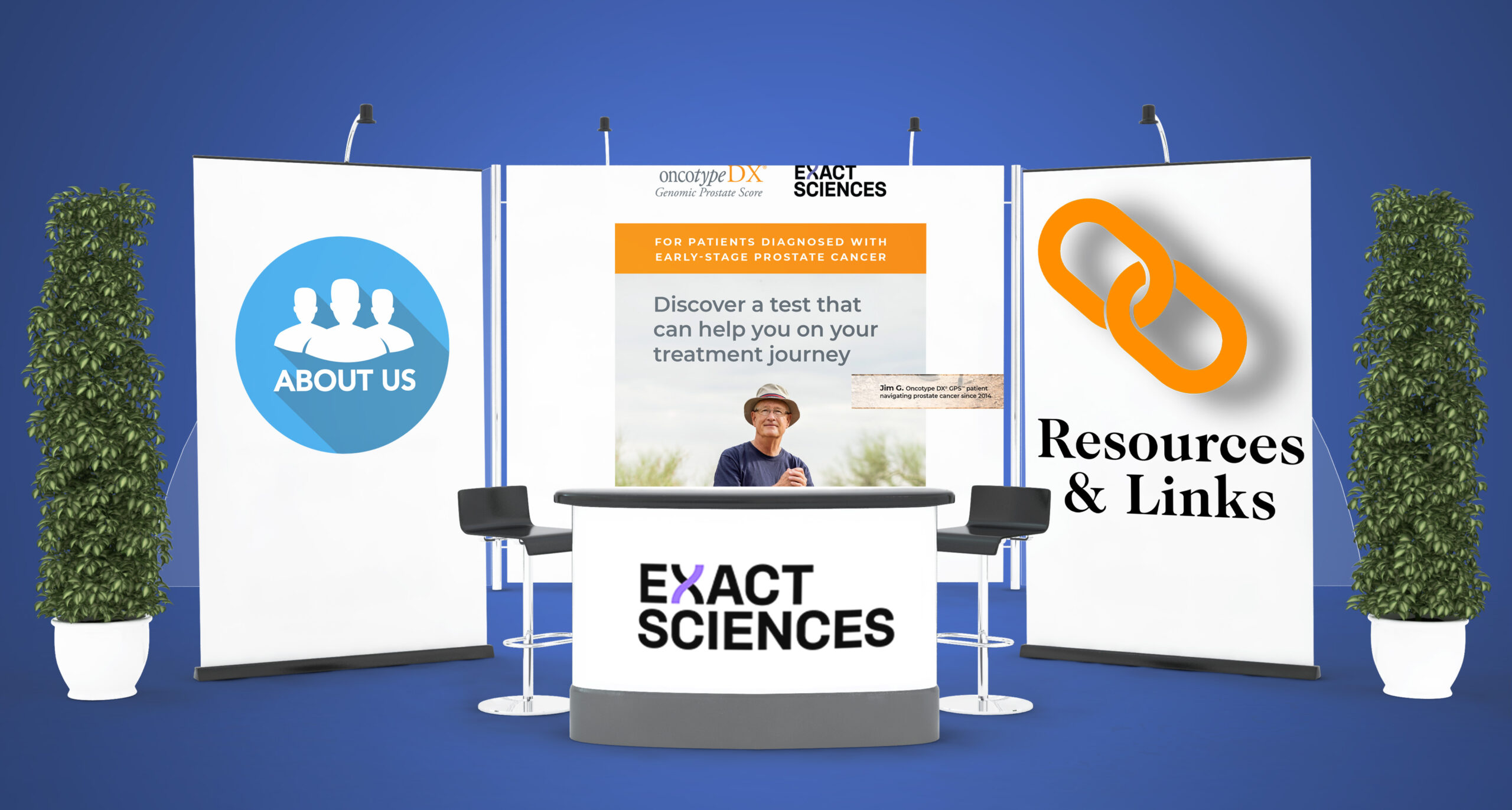 Exact Sciences Booth
