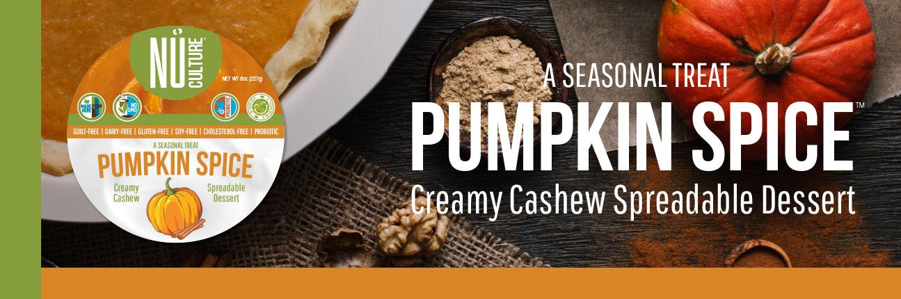 Pumpkin Spice Creamy Cashew Spread