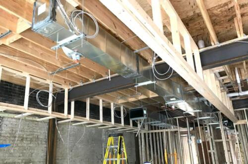 Tanos Full Install Ductwork
