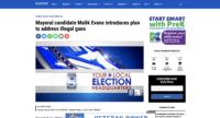 Mayoral candidate Malik Evans introduces plan to address illegal guns