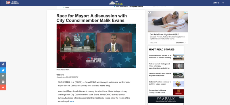 Race for Mayor: A discussion with City Councilmember Malik Evans