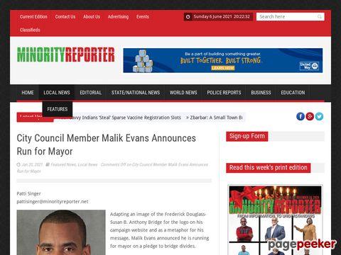 City Council Member Malik Evans Announces Run for Mayor