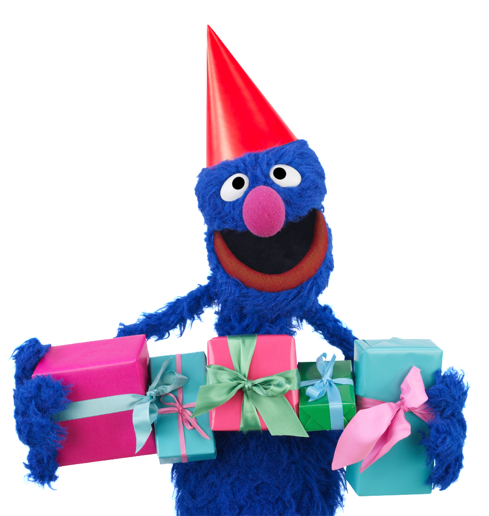 Grover Helps Us Celebrate