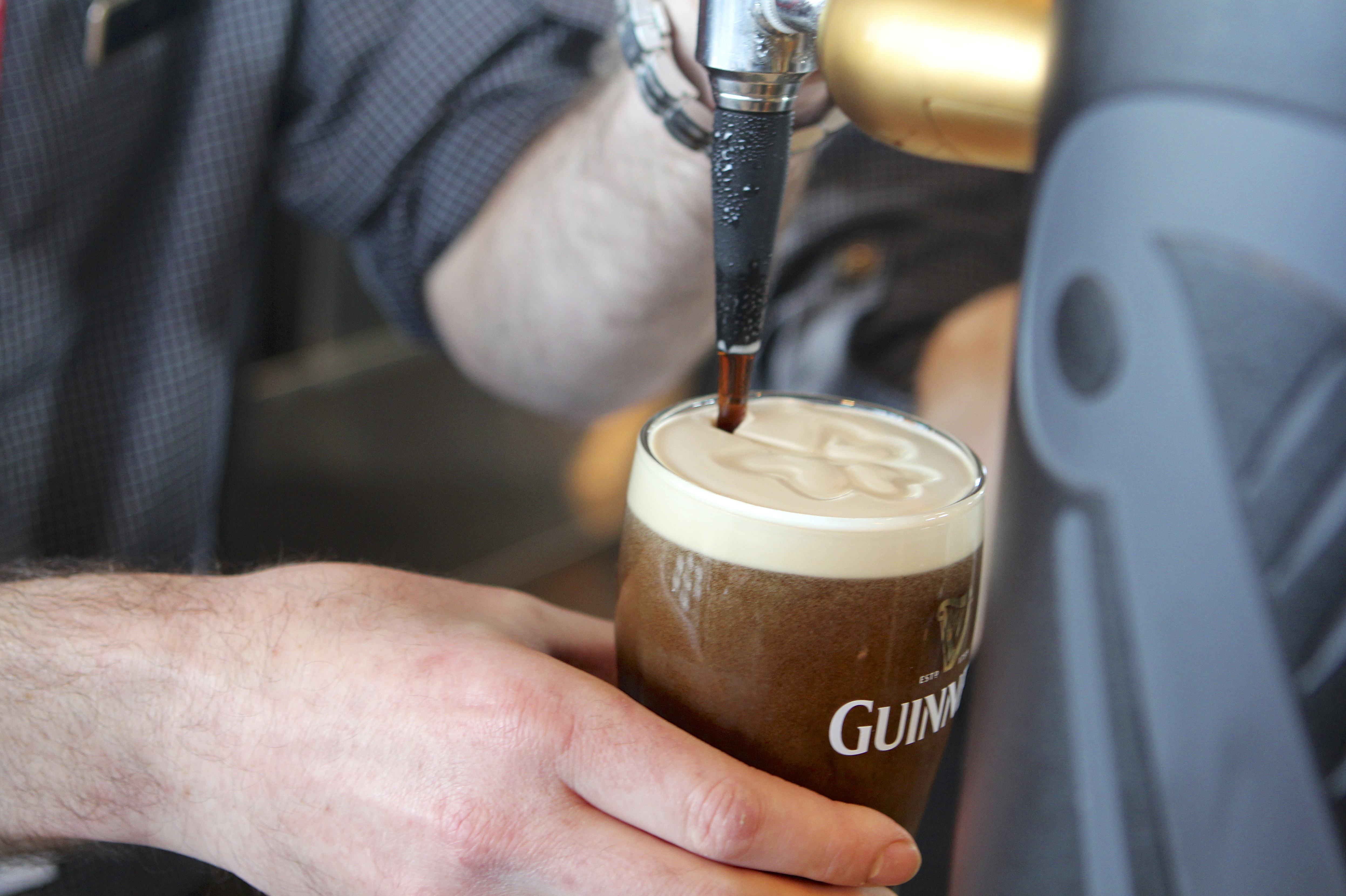 A Perfect Pour of Guinness