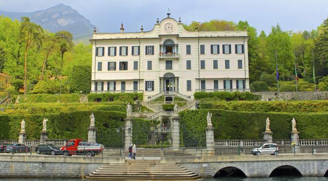 Villa Carlotta's Beautiful Gardens