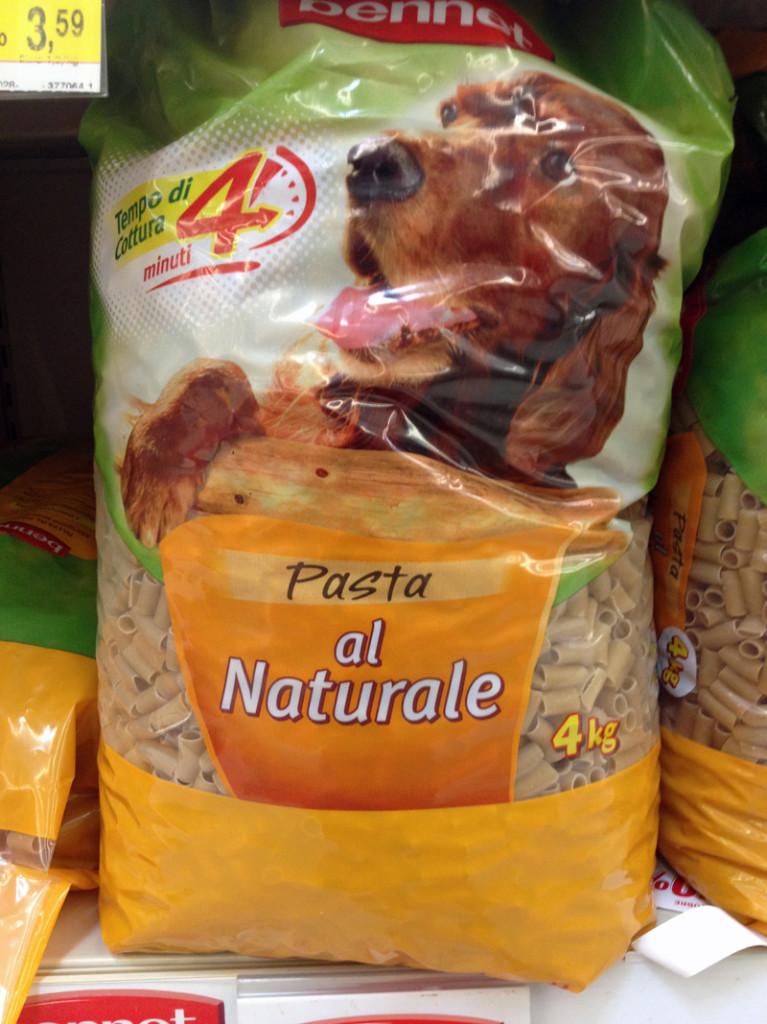 Pasta Naturale for Fido
