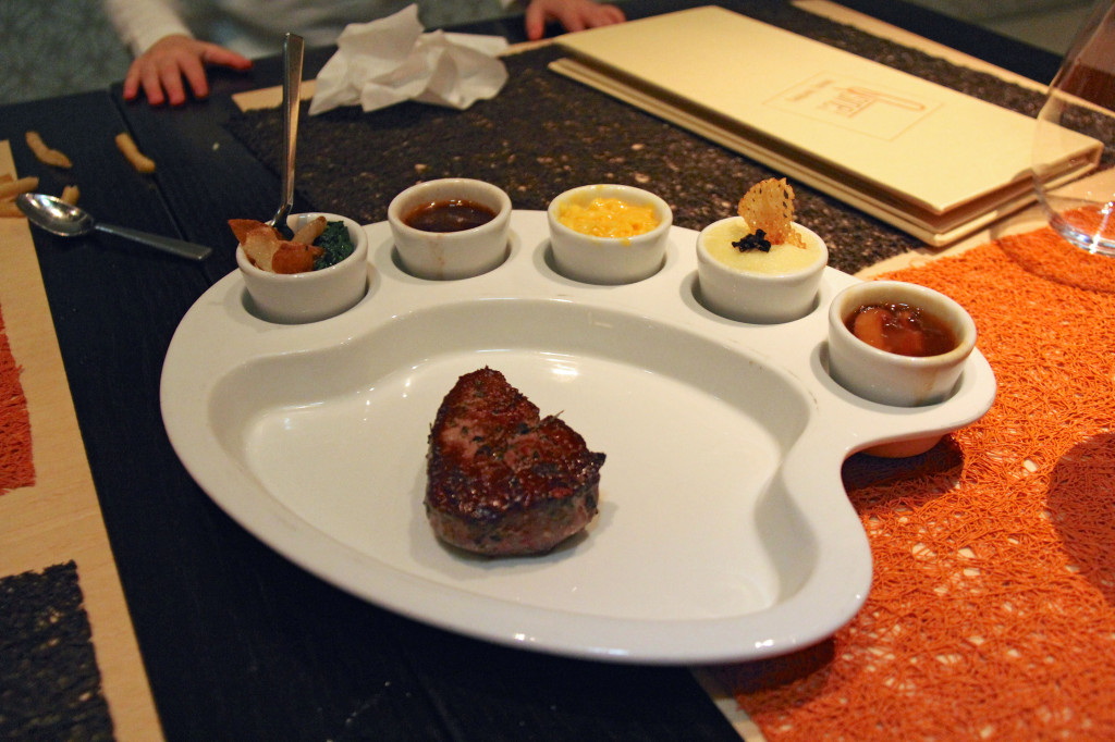 Painter's Mignon - Filet Mignon with palatable pleasers