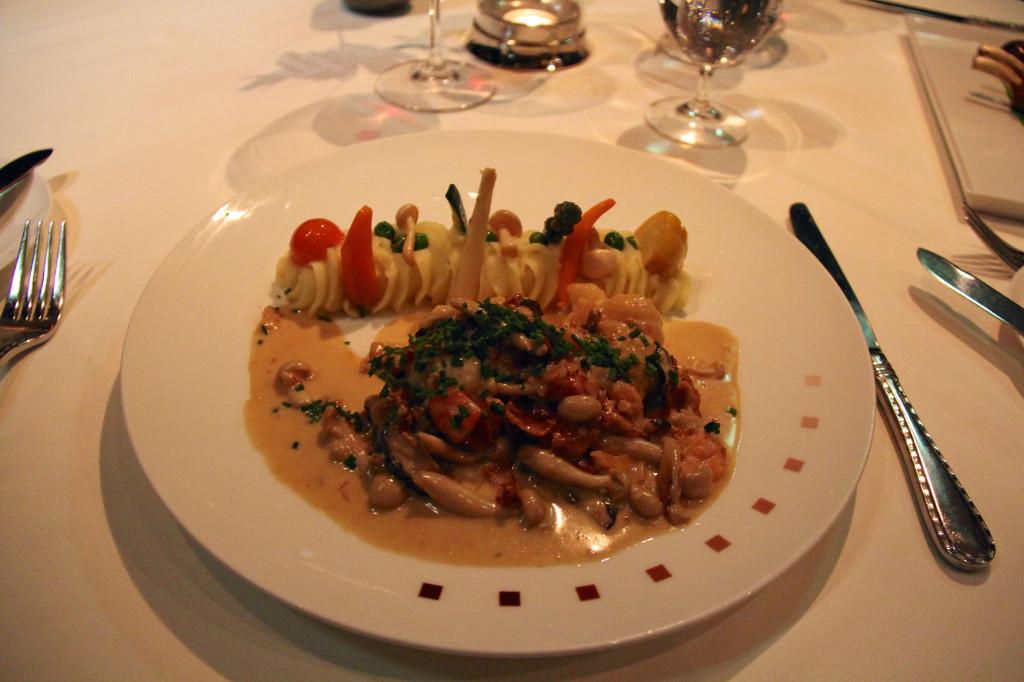 Jen's Murano Lobster - Cognac Flambéed Warm Water Lobster Tail, Fresh Basil, Applewood Smoked Bacon, Dijon-Cream