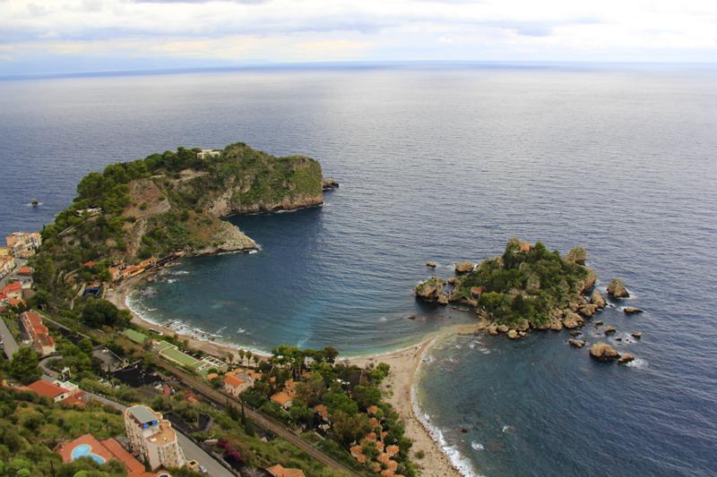 Coastline along Sicily