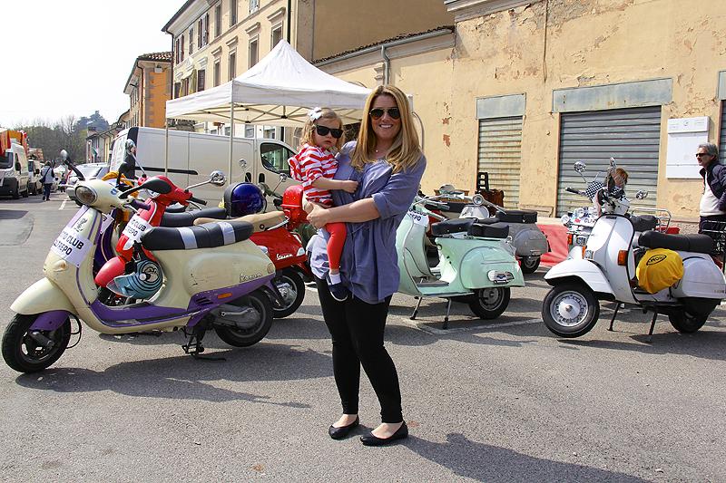 Jen and Julia in Rovescala