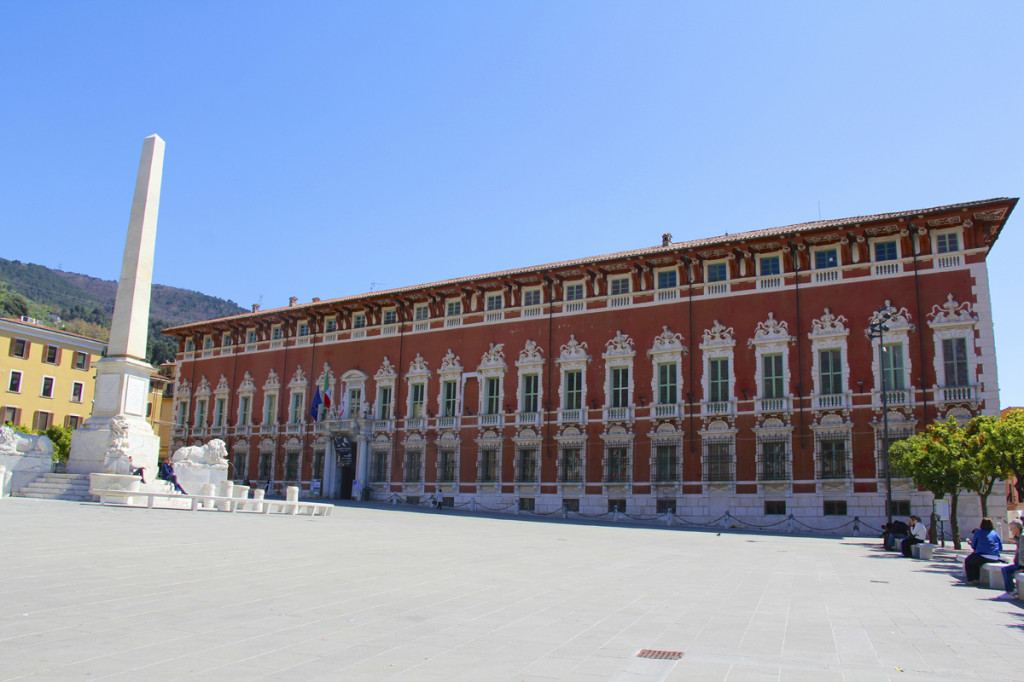 Government building in the main piazza