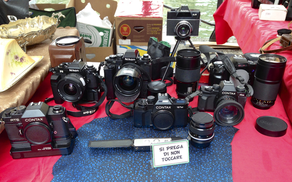 Some old photography equipment