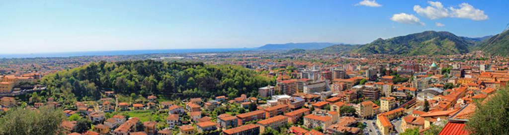 Panorama Massa Italy