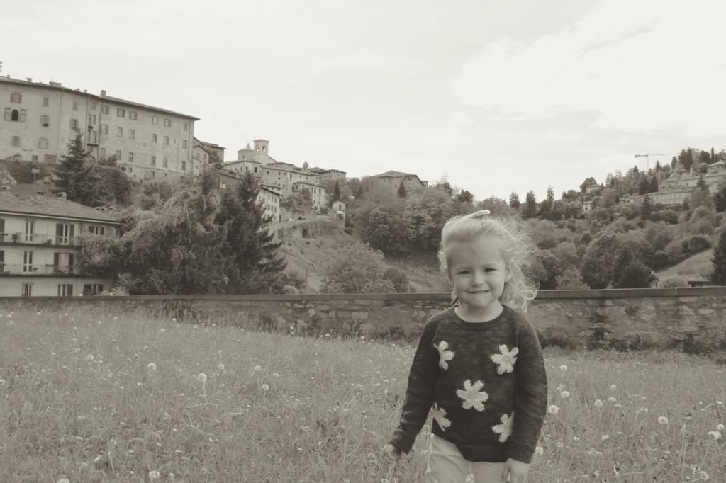 Julia enjoyed her day in Bergamo