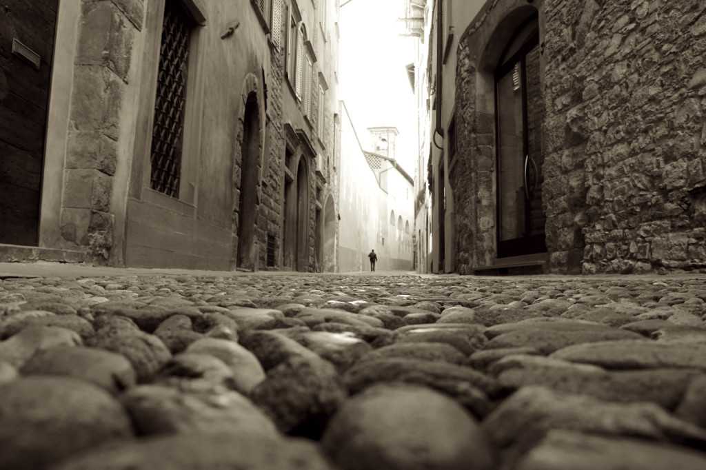 Streets centuries old