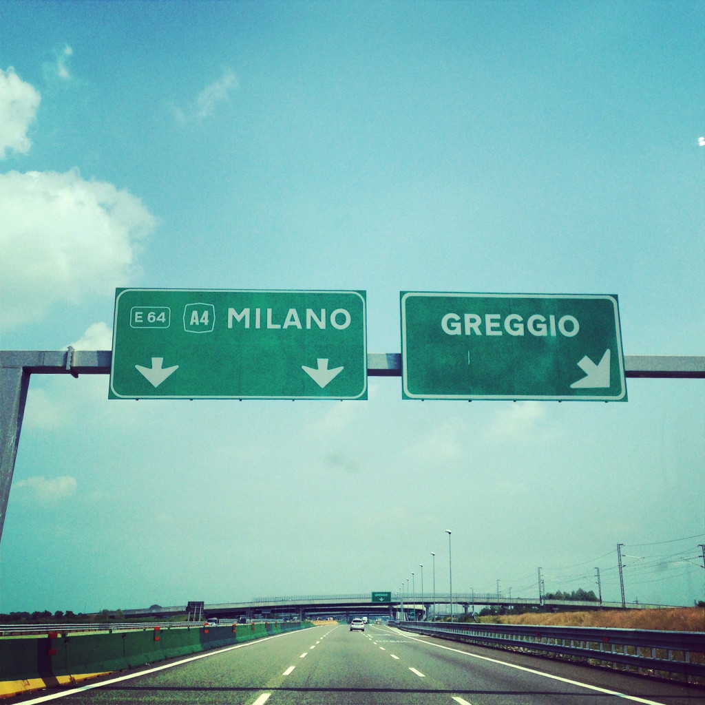 Of all Italy's exits to explore, the one on the right seems the most appealing